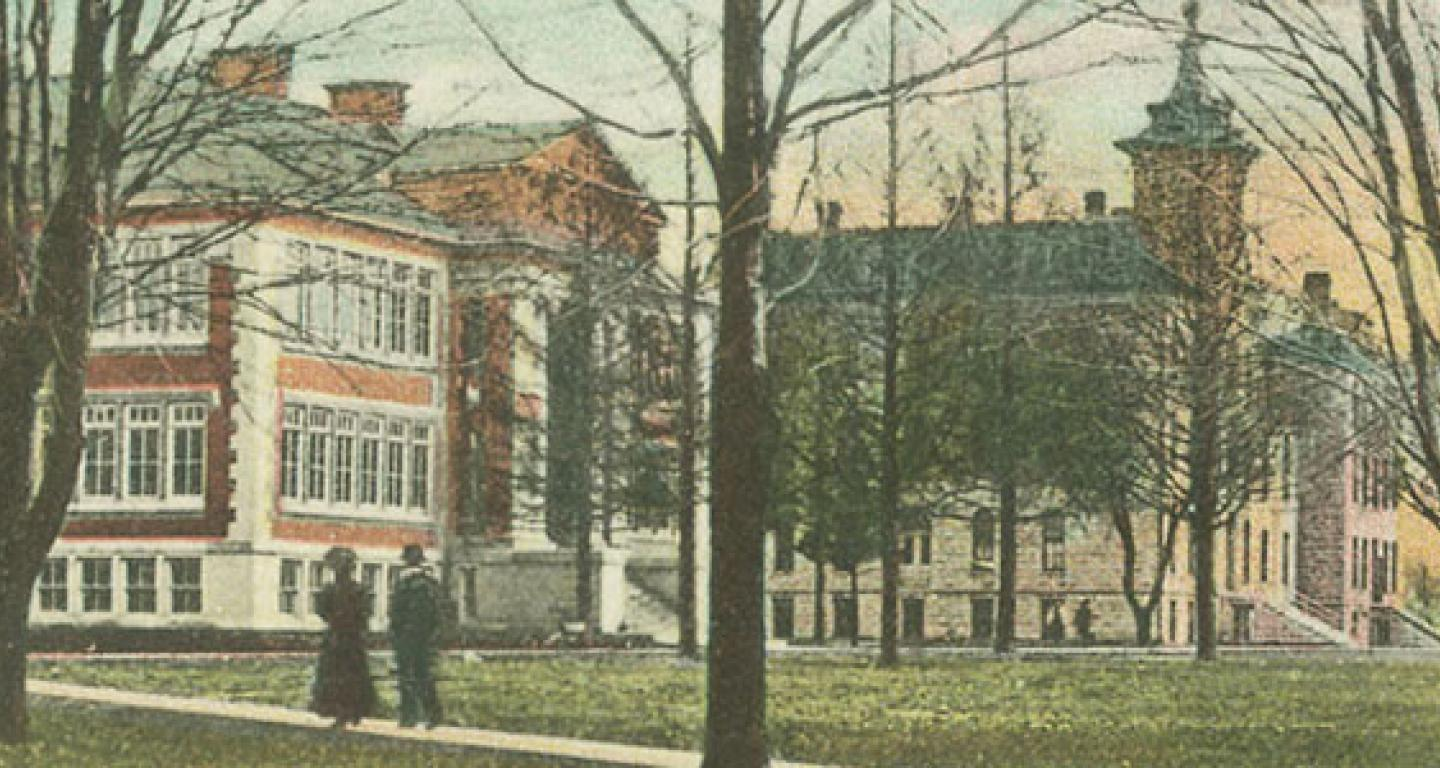 North Central College Campus Panorama circa 1910
